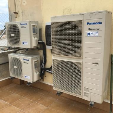 Climatización doméstica semi-industrial